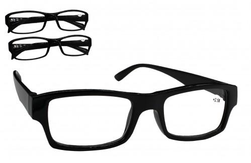 Очки №1505-А62-2 для зрения чёр. без чехла 20шт в упак. (500)