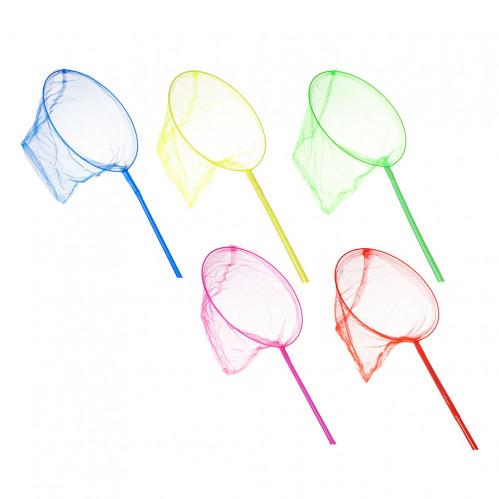 Игрушка №114014 сачок для бабочек 5цв (70*25)см (300)