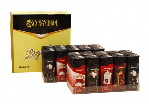 Зажигалка №055-701 с рис.М2000 сигареты (1000/50)