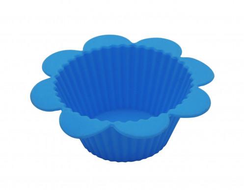 Форма №7-12 для кекса силик. 8гр 3цв 12шт в сетке (200)