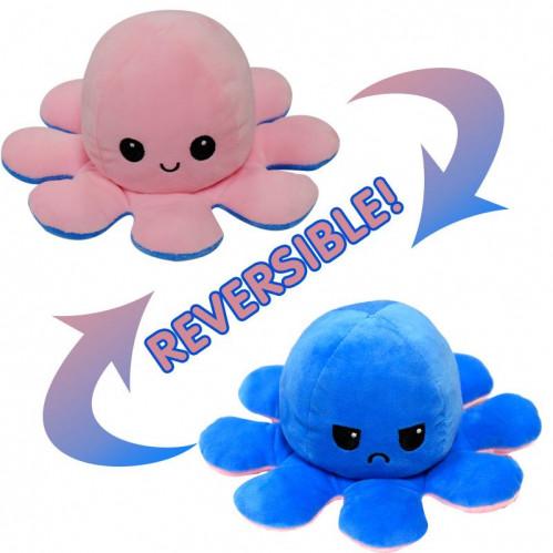 Махровая игрушка Цветные плюшевые игрушки осьминог №АВ-020В (500)