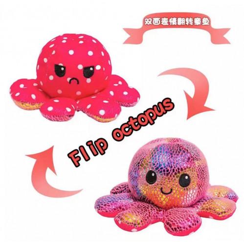 Махровая игрушка Цветные плюшевые игрушки осьминог №АВ-020D (500)