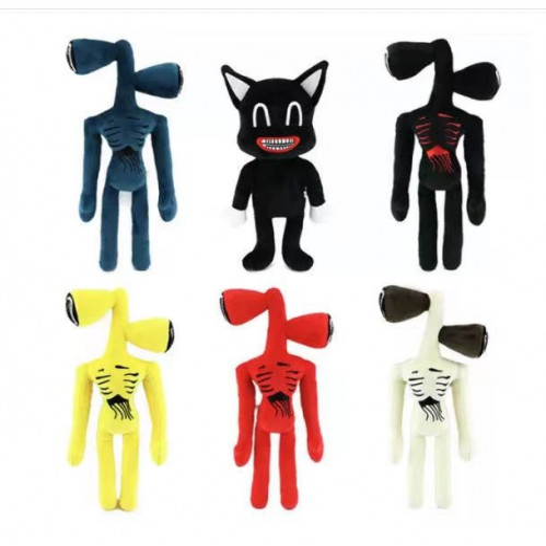 Махровая игрушка  плюшевая с головой сирены 40-35 СМ  №АВ-010 (250)