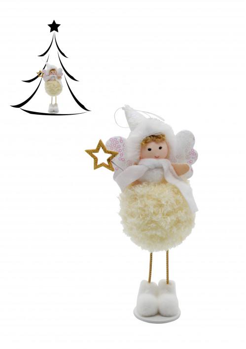 Новогодние украшение №SL21-37 38 39 Ангелочек на вер. 1шт в кл.  (23*8)см (480)